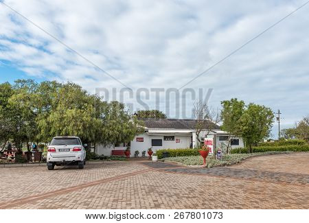 Yzerfontein, South Africa, August 20, 2018: A Road Stall And Winery Next To Road R27 Near Yzerfontei