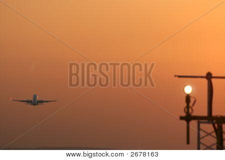 Sunset Take-Off