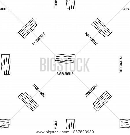 Pappardelle Pattern Seamless Vector Repeat Geometric For Any Web Design
