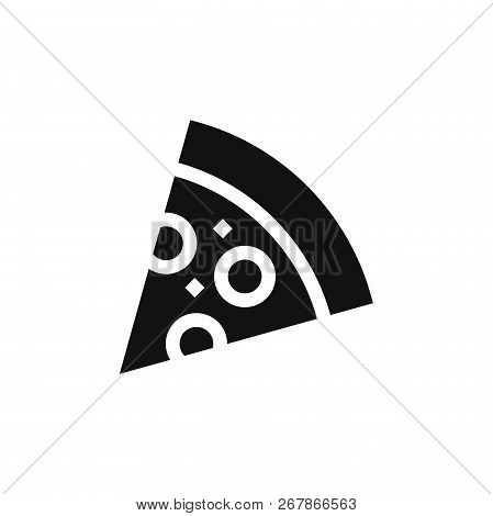Pizza Icon Isolated On White Background. Pizza Icon In Trendy Design Style. Pizza Vector Icon Modern