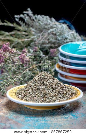 Herbes De Provence, Mixture Of Dried Herbs Considered Typical Of The Provence Region, Blends Often C
