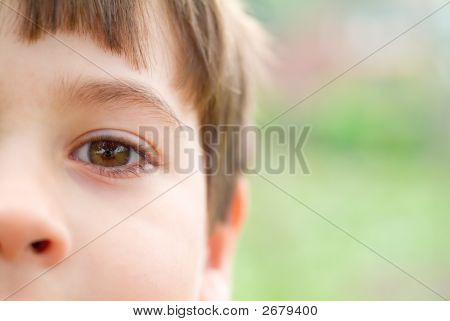 Boy Closeup
