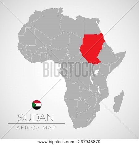 Map Africa Vector & Photo (Free Trial) | Bigstock