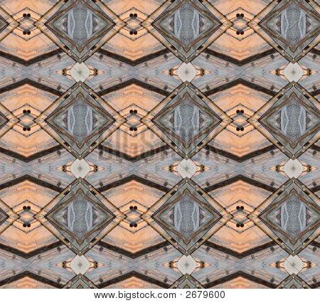 Salmon Gray Pattern