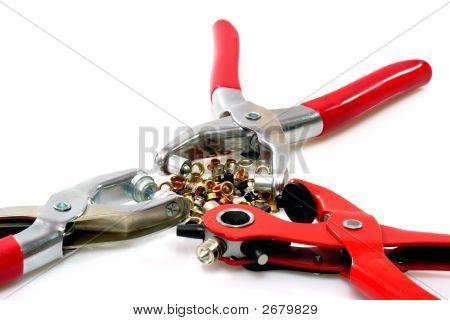 Three Rivetter Tools