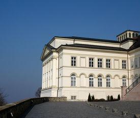 Library At Pannonhalma