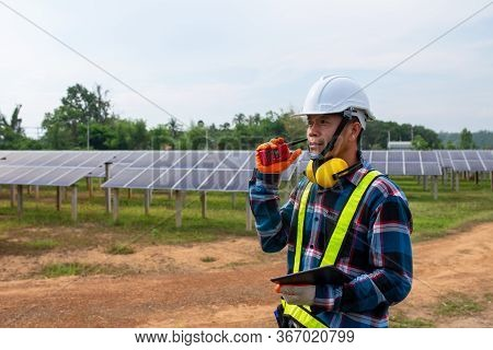Electrical Engineers, Solar Power Operational And Command Radio Communication.