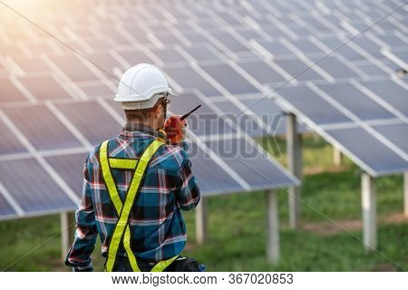 Portrait Electrical Engineers, Solar Power Operational And Command Radio Communication.