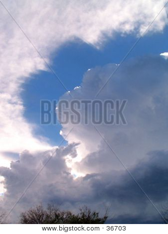 Unusual Cloud Formation