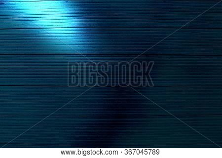 Blue Background With A Ray Of Light.