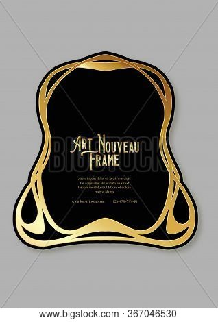 Label, Decorative Frame, Border. Tamplate Good For Product Label With Place For Text Colored Vector