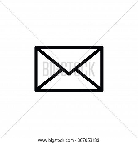 Envelope Icon Isolated On White Background. Envelope Icon In Trendy Design Style. Envelope Vector Ic