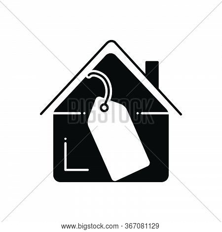 Black Solid Icon For Property-price Property Price  Accumulation Mortgage-price Cost