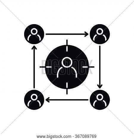 Black Solid Icon For Focus-groups Focus Groups  Team  Meeting
