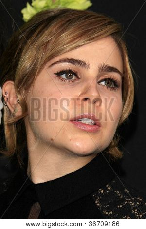 LOS ANGELES - SEP 10:  Mae Whitman arrives at