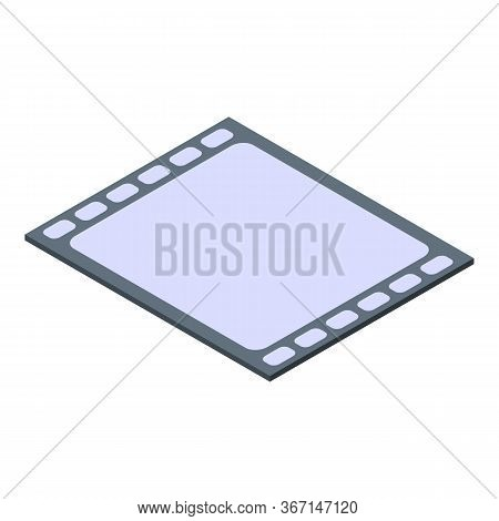 Video Clip Icon. Isometric Of Video Clip Vector Icon For Web Design Isolated On White Background