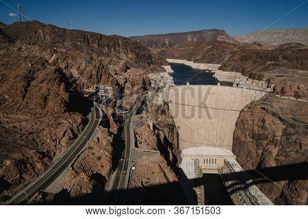 Hoover Dam In