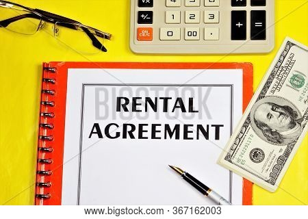 A Lease Agreement Is A Form Of Property Agreement. The Property Is Transferred To The Temporary Poss
