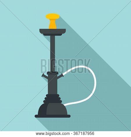 Turkish Hookah Icon. Flat Illustration Of Turkish Hookah Vector Icon For Web Design
