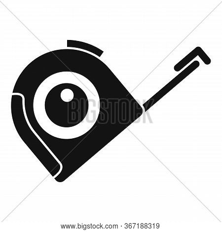 Roulette Construction Icon. Simple Illustration Of Roulette Construction Vector Icon For Web Design