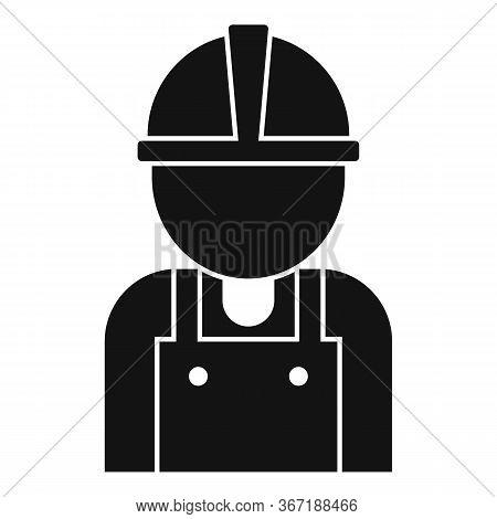 Road Repair Worker Icon. Simple Illustration Of Road Repair Worker Vector Icon For Web Design Isolat
