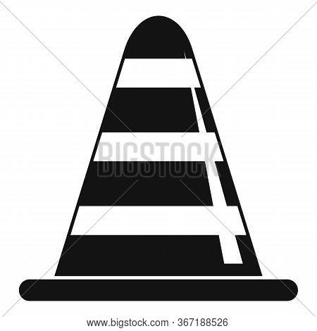 Road Repair Cone Icon. Simple Illustration Of Road Repair Cone Vector Icon For Web Design Isolated O