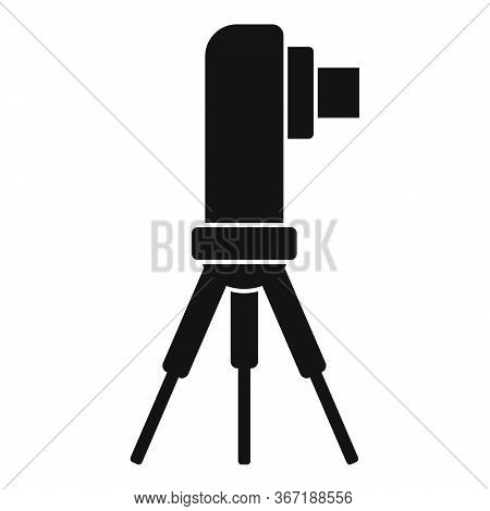 Surveyor Road Icon. Simple Illustration Of Surveyor Road Vector Icon For Web Design Isolated On Whit