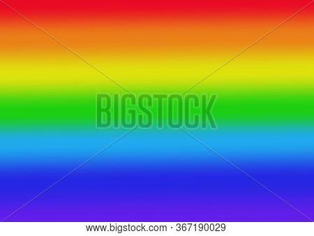 Abstract Rainbow Background. Rainbow Lgbt Flag Of Pride. International Day Against Homophobia. Brigh