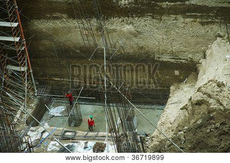 Construction Site 5 - Foundation