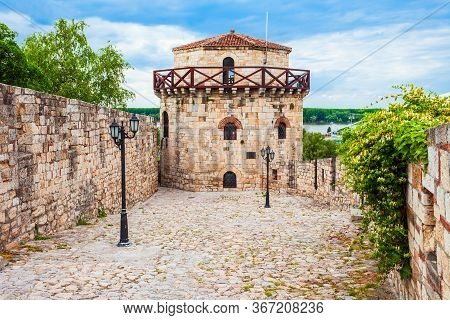 Jaksic Tower At The Belgrade Fortress Or Kalemegdan Fortress In The Belgrade City In Serbia