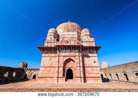 Darya Khan Tomb And Mosque In Mandu Ancient City In Madhya Pradesh State Of India