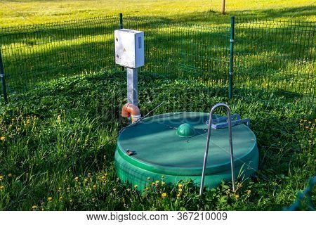 Septic Tank Installation, Water Treatment Tank. Biological.
