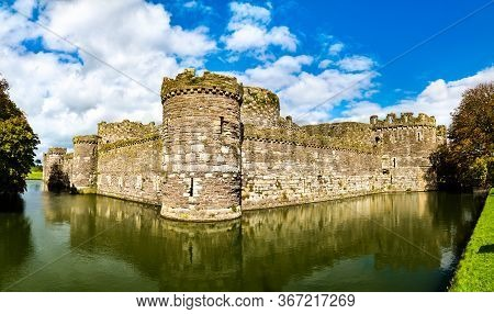 Beaumaris Castle, Unesco World Heritage In Wales, Great Britain