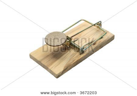 Mousetrap With Coin