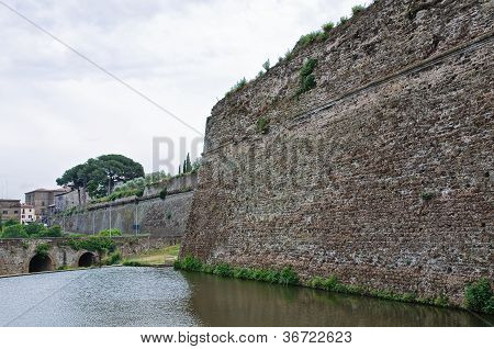 Castle of Borgia of Nepi. Lazio. Italy.