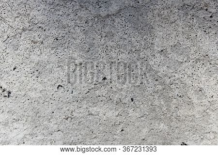 Brick Stone Gray Concrete Wall Background Rough.