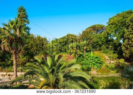 The Jardin Botanique De Bayonne Des Remparts Is A Botanical Garden In Bayonne Town In France