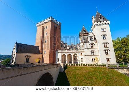 Chateau De Pau Is A Castle In The Centre Of Pau City In France