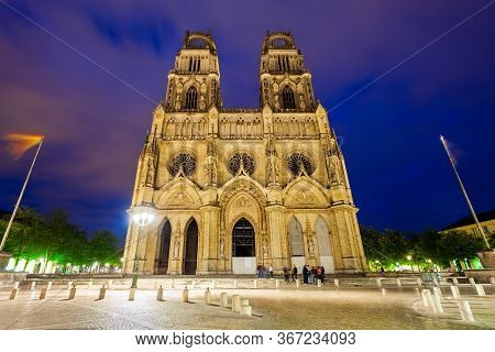 Orleans Cathedral Or Basilique Cathedrale Sainte Croix Dorleans Is A Roman Catholic Church In Orlean