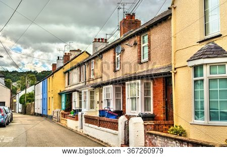 Traditional Houses In Beaumaris - Isle Of Anglesey, Wales, Uk