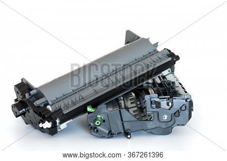 Laser printer drum and toner cartridge
