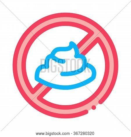 Mayonnaise Ban Icon Vector. Mayonnaise Ban Sign. Color Symbol Illustration