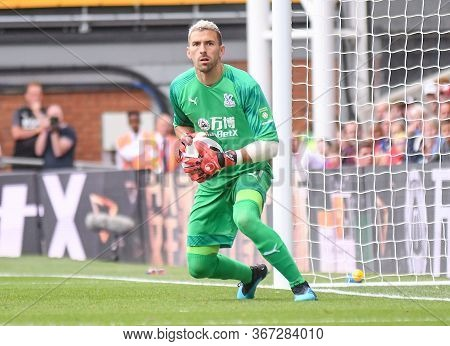 London, England - August 31, 2019: Vicente Guaita Of Palace Pictured During The 2019/20 Premier Leag