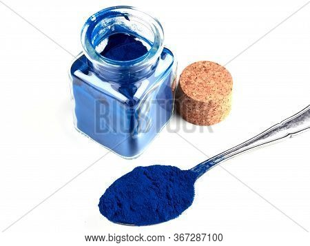 Blue Spirulina (phycocyanin) Is An Intense Blue Natural Pigment Derived From Blue-green Algae