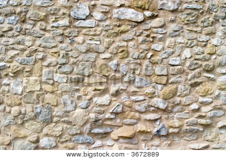 Brick Wall From 18Th Century