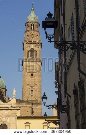 Parma, Emilia-romagna, Italy: San Giovanni Evangelista Church And Its Belfry