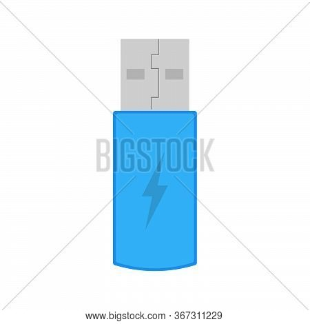 Usb Vector Isolated On White Background. Usb Icon For Web,mobile, Ui