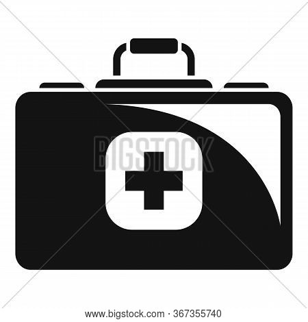 Medical Kit Icon. Simple Illustration Of Medical Kit Vector Icon For Web Design Isolated On White Ba