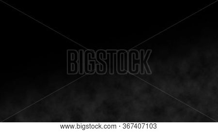 Atmospheric Smoke Slowly White Fog Effect Element. Cinematic Haze Background. Realistic Best Abstrac
