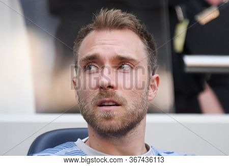 London, England - August 25, 2019: Christian Eriksen Of Tottenham Pictured Ahead Of The 2019/20 Prem